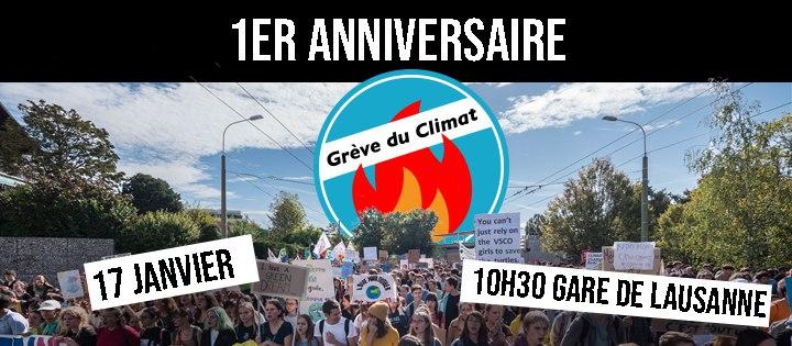 Une année de Grève du Climat