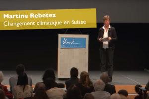 Changement climatique en Suisse – Martin Rebetez