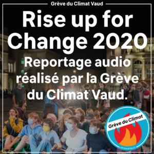 Reportage Rise up for Change 2020